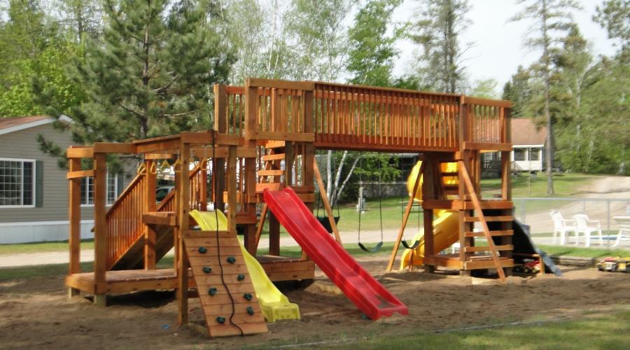 Becker\'s Resort and Campground, Lake Winnibigoshish