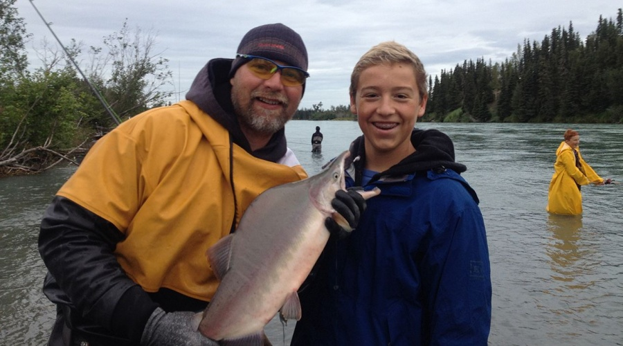 Eric Loomis Fishing Alaska